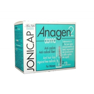 BioNike  Jonicap Anagen2 AntiHair Loss For Women 12x6ml Renksiz